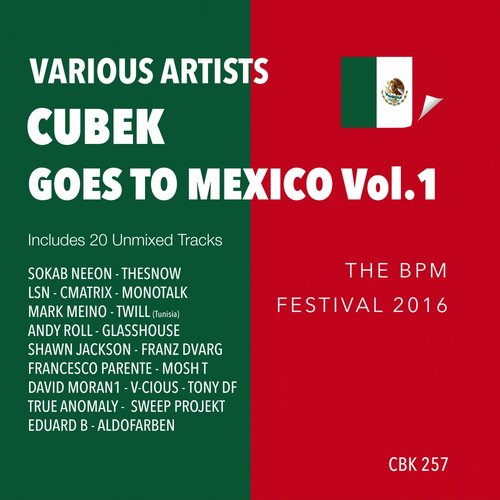 VA - Cubek Goes To Mexico, Vol. 1 (The BPM Festival 2016) [CBK257]